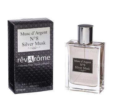 Revarome No. 8 Silver Musk For Men woda toaletowa spray 100ml