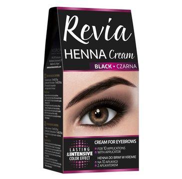 Revia Henna do brwi w kremie Czarna (15 ml)