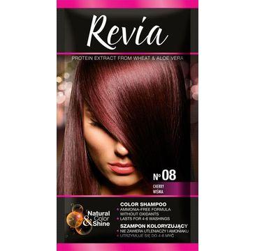 Revia – Szampon koloryzujący do włosów nr 08 Wiśnia (1 op.)