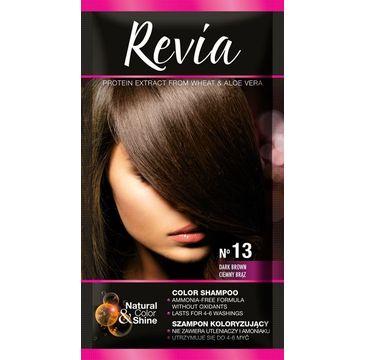 Revia – Szampon koloryzujący do włosów nr 13 Ciemny Brąz (1 op.)