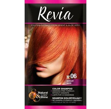 Revia – Szampon koloryzujący do włosów nr 06 Mahoń (1 op.)