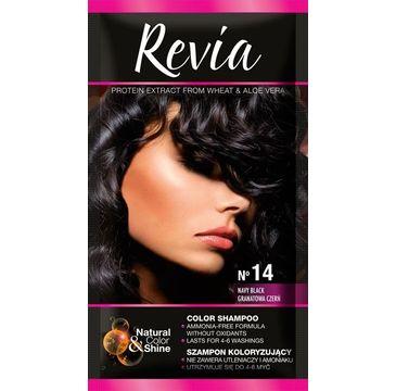 Revia – Szampon koloryzujący do włosów nr 14 Granatowa Czerń (1op.)