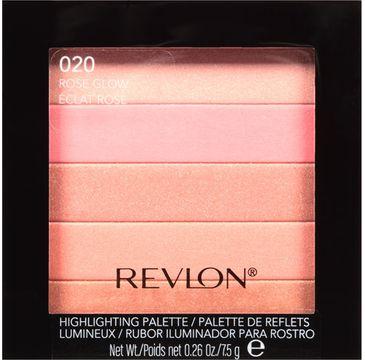Revlon Highlighting Palette paletka rozświetlająca nr 020 Rose glow 7,5g