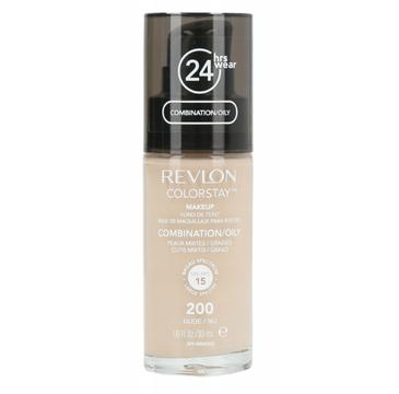 Revlon – Podkład Colorstay nr 200 Nude cera tłusta/mieszana (30 ml)