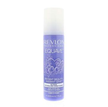 Revlon Professional Equave Blonde Detangling Conditioner odżywka ułatwiająca rozczesywanie do włosów blond 200ml