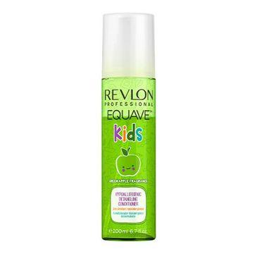 Revlon Professional Equave Kids Hypoalergenic Detangling Conditioner Green Apple odżywka dla dzieci ułatwiająca rozczesywanie (200 ml)