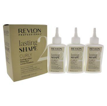 Revlon Professional Lasting Shape Curl Sensitised Hair płyn do loków do włosów wrażliwych  3x100 ml