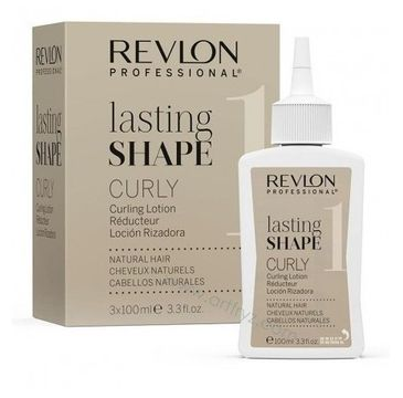 Revlon Professional Lasting Shape Curly Natural Hair płyn do loków do włosów naturalnych 3x100ml