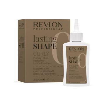 Revlon Professional Lasting Shape Curly  Resistant Hair płyn do loków do włosów opornych 3x100ml