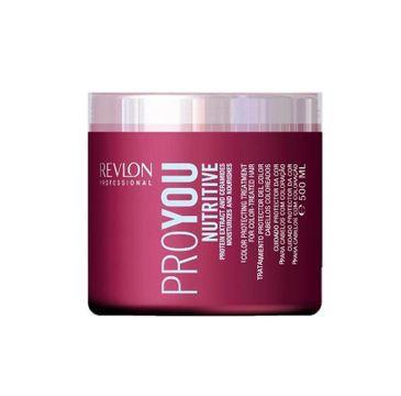 Revlon Professional ProYou Nutitive Moisurizing And Nourishing Treatment maska odżywcza 500ml