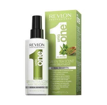 Revlon Professional Uniq One All In One Green Tea Scent Hair Treatment 10 Real Benefits odżywka do włosów w sprayu 150ml