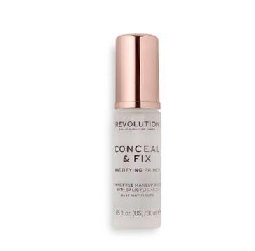 Makeup Revolution – Conceal & Fix Mattifying Primer baza matująca (30 ml)