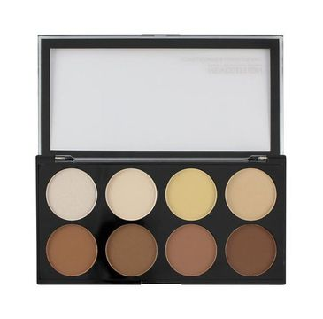 Makeup Revolution – Iconic Lights & Contour Pro paleta do konturowania twarzy (1 szt.)
