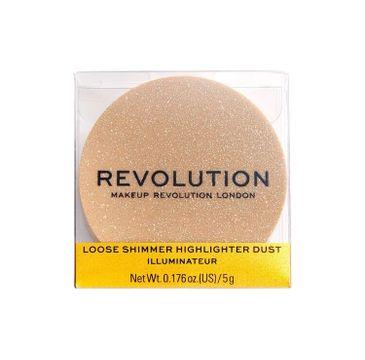 Makeup Revolution Precious Stone Rose Quartz - rozświetlacz sypki (5 g)