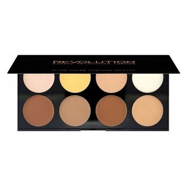 Makeup Revolution – Ultra Cream Contour Palette paleta do konturowania twarzy (1 szt.)