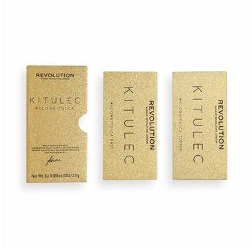 Makeup Revolution x Kitulec Paleta rozświetlaczy #GlowKitulca 2 paletki