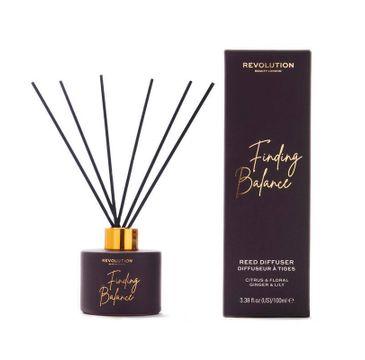 Makeup Revolution – Beauty Dyfuzor zapachowy do pomieszczeń Finding Balance - patyczki+olejek (100 ml)