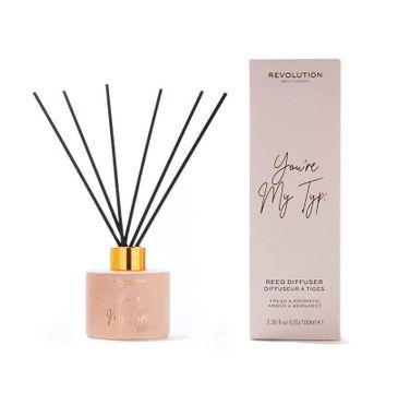 Makeup Revolution – Beauty Dyfuzor zapachowy do pomieszczeń You Are My Type - patyczki+olejek (100 ml)