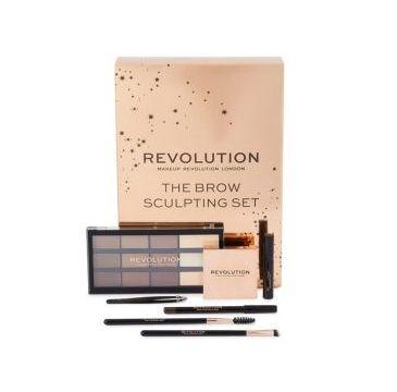 Makeup Revolution – Zestaw do stylizacji brwi The Brow Sculpting Kit (1 szt.)