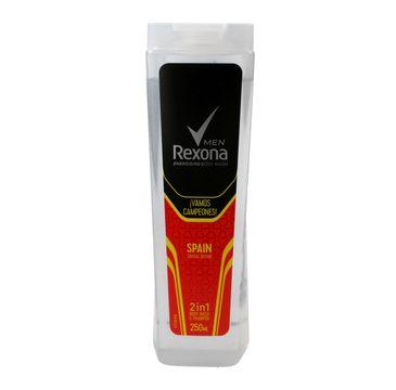Rexona Energising FIFA Men żel pod prysznic 2w1 Spain 250 ml