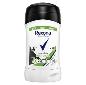 Rexona – Invisible fresh power antyperspirant w sztyfcie dla kobiet (40 ml)