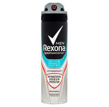Rexona Motion Sense Active Shield Fresh dezodorant w sprayu męski 150 ml
