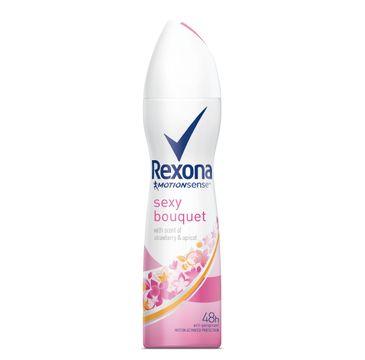 Rexona Motion Sense Woman dezodorant w sprayu damski sexy zapach 150 ml