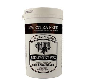 Richards & Appleby – Natural Classic WAX Treatment Odżywka do włosów Henna 480g