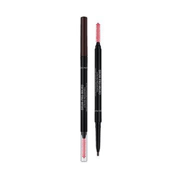 Rimmel Brow Pro Micro wysuwana kredka do brwi 03 Dark Brown 0.09g