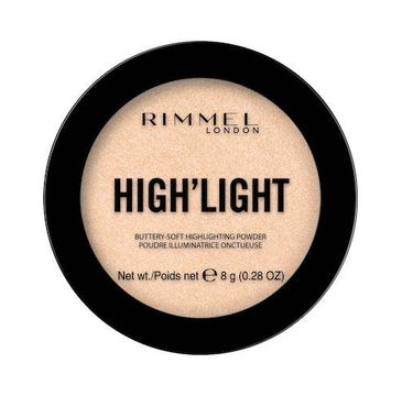 Rimmel High'light Buttery-Soft Highlighting Powder rozÅ›wietlacz do twarzy 001 Stardust (8 g)