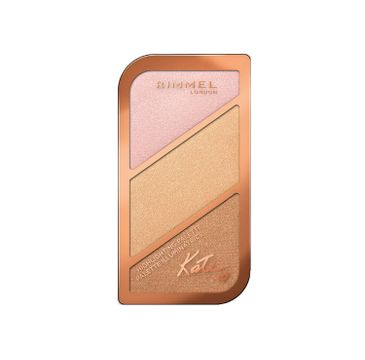 Rimmel Kate Highlighting Palette paleta do konturowania twarzy 004 In the Bluff 18,5g
