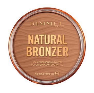 Rimmel Natural Bronzer bronzer do twarzy z rozświetlającymi drobinkami 002 Sunbronze (14 g)