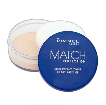 Rimmel – Match Perfection Sypki Transparentny puder 001 (10 g)