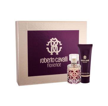 Roberto Cavalli Florence zestaw woda perfumowana spray 50ml + balsam do ciała 75ml