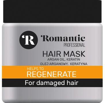 Romantic Professional maska do włosów regeneracja 500 ml