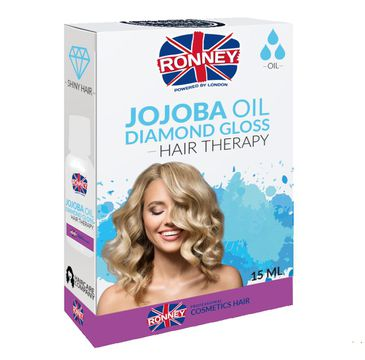 Ronney Jojoba Oil Professional Hair Diamond Gloss nabłyszczający olejek do włosów 15ml