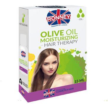 Ronney Olive Oil Professional Hair Moisturizing Effect nawilżający olejek do włosów 15ml