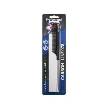 Ronney Professional Carbon Comb Line 078 grzebień do włosów (1 szt.)