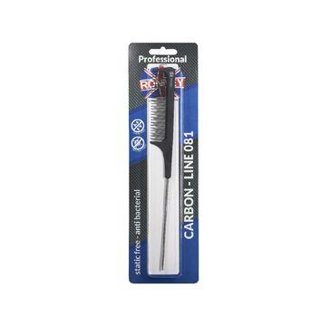Ronney Professional Carbon Comb Line 081 grzebień do włosów