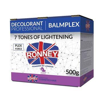 Ronney Professional Decolorant Balmplex profesjonalny bezpyłowy rozjaśniacz do włosów (500 g)