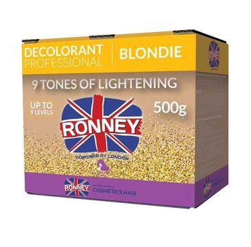 Ronney Professional Decolorant Blondie profesjonalny bezpyłowy rozjaśniacz do włosów (500 g)