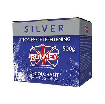 Ronney Professional Decolorant Silver profesjonalny bezpyłowy rozjaśniacz do włosów (500 g)