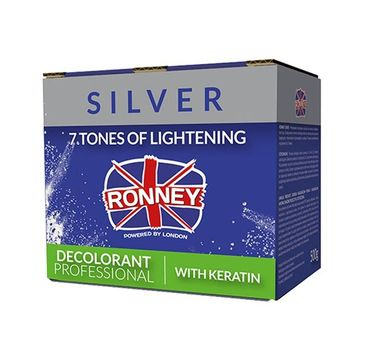 Ronney Professional Decolorant With Keratin profesjonalny bezpyłowy rozjaśniacz do włosów z keratyną (500 g)