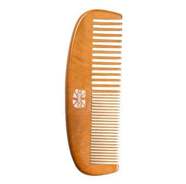 Ronney Professional Wooden Comb profesjonalny drewniany grzebień do włosów 153 x 52.5mm RA 00121 (1 szt.)
