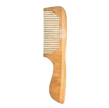 Ronney Professional Wooden Comb profesjonalny drewniany grzebień do włosów 184x45mm RA 00122 (1 szt.)