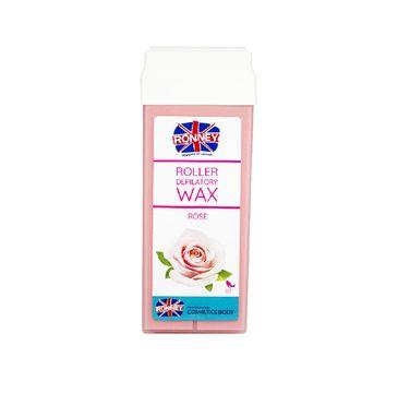 Ronney Roller Depilatory Wax wosk do depilacji w rolce Rose (100 ml)