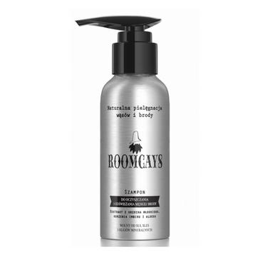 Roomcays – Szampon do oczyszczania i odświeżania męskiej brody (120 ml)