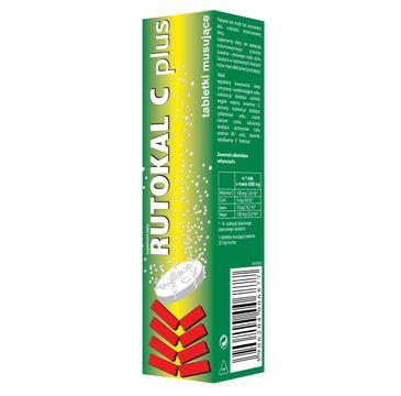 Rutokal C Plus suplement diety (20 tabletek musujących)