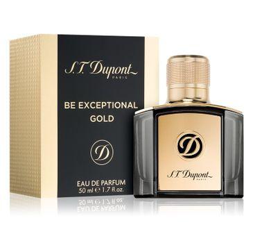 S.T. Dupont Be Exceptional Gold woda perfumowana 50ml