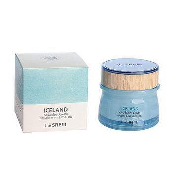 Saem – Iceland Aqua Moist Cream Nawilżający Krem do Twarzy (60 ml)